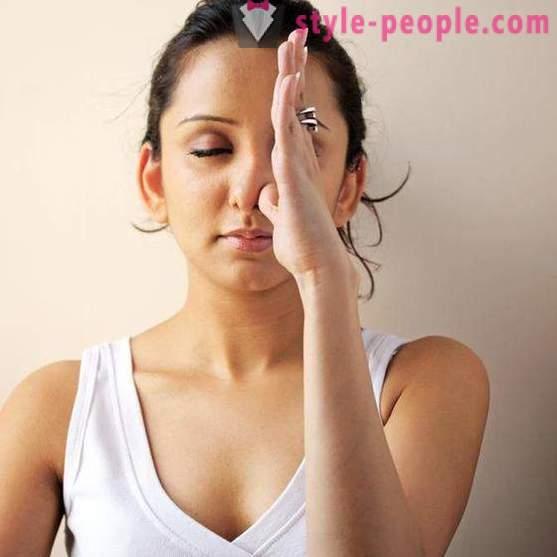 Как да се намали носа си у дома: упражнение